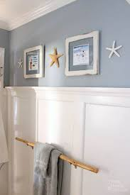 Bathroom Art Ideas For Walls Colors Seaside Theme Bathroom Refresh Lowescreator Pretty Handy