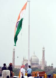 Indian National Flag Hoisting Photo Gallery 70th Independence Day Ceremony Webdunia English