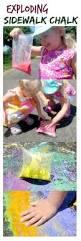 25 Unique Chalk Spray Paint by 25 Unique Sidewalk Chalk Paint Ideas On Pinterest Cornstarch