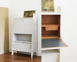 image de secretaire au bureau bureau secretaire blanc bureau secr taire en bois blanc l 82 cm