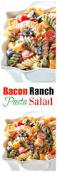 bacon ranch pasta salad the who ate everything