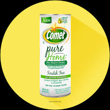 Comet Bathroom Cleaner by Comet Pure Home Eco Friendly Cleaner