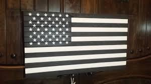 Vintage Flag Art Handmade In Usa Vintage Rustic And Distressed Wooden U S