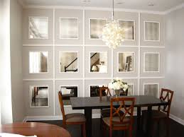 large dining room wall mirrors dining room walls large