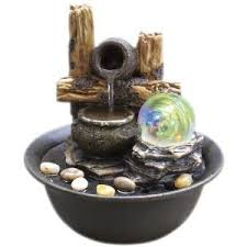 indoor fountain with light 8 25 inch h table fountain with light hp http www amazon com dp