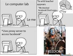 Proxy Meme - proxy freedom by makbar meme center