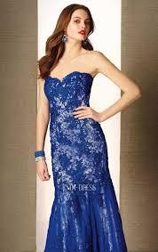 royal blue mermaid sweetheart neckline lace overlay 2015 evening