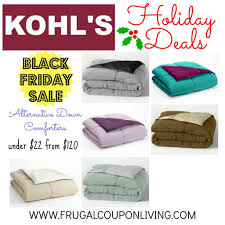 Kohls King Size Comforter Sets Black Friday Kohl U0027s Alternative Down Comforter 21 24 From 120