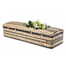 wicker casket premium banana imperial black casket environmentally
