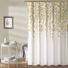 Lush Shower Curtains Lush Decor Weeping Flower Shower Curtain Free Shipping On Orders