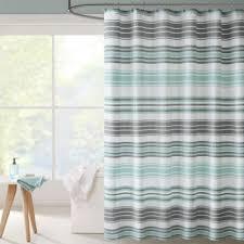 Kassatex Shower Curtain Pretentious Blue And Grey Shower Curtain Kassatex