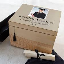 graduation memory box personalised graduation memory box with photo