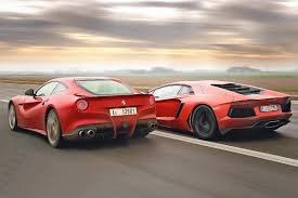 voiture de sport lamborghini voitures italiennes le duel lamborghini et ferrari