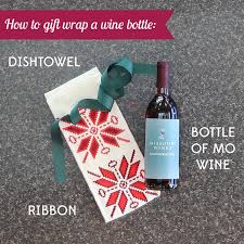 wine bottle gift wrap how to gift wrap wine bottles three ways mo wine