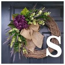 25 unique letter door wreaths ideas on door