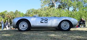 porsche spyder 1965 kiawah 2016 highlights 1955 porsche 550 spyder ingram collection