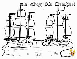 pirate ship colouring pages gekimoe u2022 68705