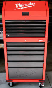 Rolling Tool Cabinet Sale Review Milwaukee 30 U2033 12 Drawer Tool Chest And Rolling Cabinet Combo
