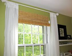 window treatment ideas for bay windows in kitchen design window treatments blinds and curtains together home design ideas restaurant bar design rectangle house