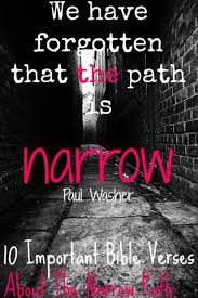 important bible verses narrow path