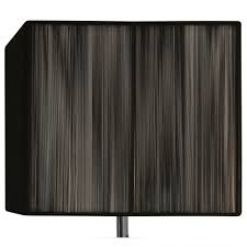 black rectangle l shade lighting string 14inch black rectangular l shade rectangle wall