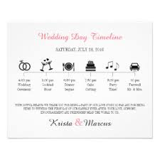 Wedding Program Outline Template Wedding Programs Zazzle