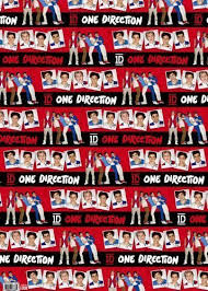 one direction wrapping paper one direction roll wrapping paper co uk kitchen home