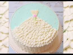 wedding shower cakes wedding shower cake design with buttercream dress