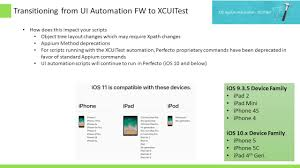 appium 1 6 and xcuitest automation framework youtube
