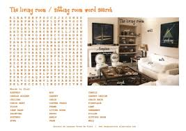 is livingroom one word is livingroom one word images living room vocabulary bingo on