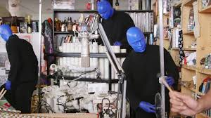 Tiny Desk Concert Making Movies Watch The Blue Man Group U0027s Insanely Fun Tiny Desk Performance