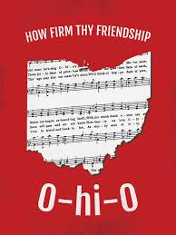 Map Ohio State by Ohio State Carmen Ohio Fight Song Map U2013 Sproutjam