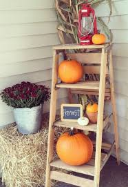Fall Decorations For Outside The Home Best 25 Outside Fall Decorations Ideas Only On Pinterest Autumn