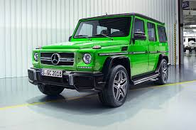 green mercedes benz 2016 mercedes benz g class receives new 4 0 liter v 8