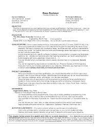 Sample Resume For College Student With No Experience by Resume For Undergraduate College Student With No Experience Free