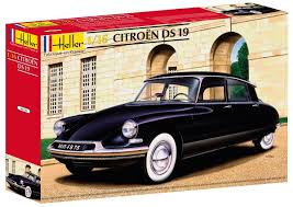 Heller 80795 Model Kit Citroën Ds 19 Amazon Co Uk Toys U0026 Games