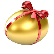 gold easter eggs gold easter egg transparent background image