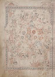 voynich cosmology f85r2 stephen bax