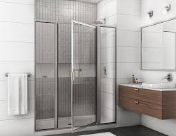 Frame Shower Door Bathroom White Modern Bathroom Design With Aluminum Frame Shower