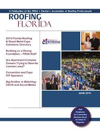 Entegra Roof Tile Jobs by Roofing Florida June 2015 By Florida Roofing Magazine Issuu