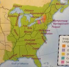 Shawnee Map Sac And Fox