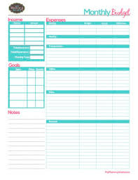 best 25 monthly budget printable ideas on pinterest budget
