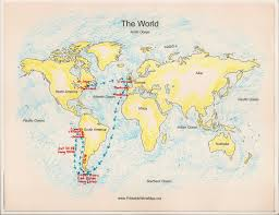 Cape Of Good Hope On World Map by The Southern Cone Political Map Of South America 1200 Px Nations