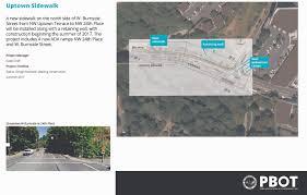 Traffic Map Portland by West Burnside Safety Improvements The City Of Portland Oregon