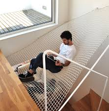 suspended reading nook hammock net by ooda this is really