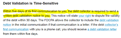 lpt to avoid being scammed by phoney debt collectors request a