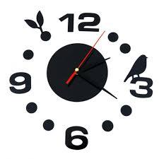 wall clocks modern diy clock large wall clock 3d wall sticker