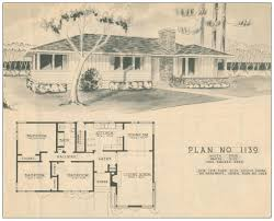 1950 ranch style house plans house plans