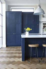vintage kitchen furniture vintage navy kitchen design with brass hardware digsdigs