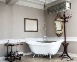 create an artistic impression in classic bathroom with victorian